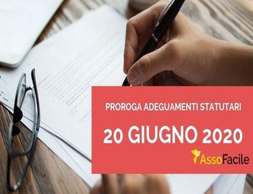 Proroga adeguamenti statutari al 30 giugno 2020: i consigli dei nostri consulenti per adeguare facilmente i vostri statuti