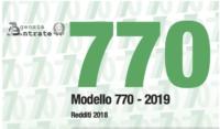 Scadenze certificazione Unica 2019